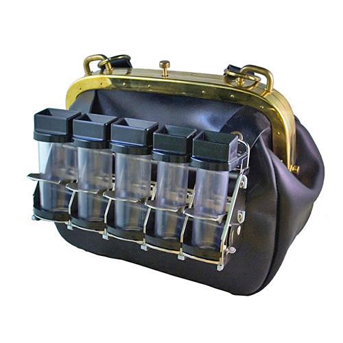 Cambist bolso de bandolera con distribuidor de moneda.