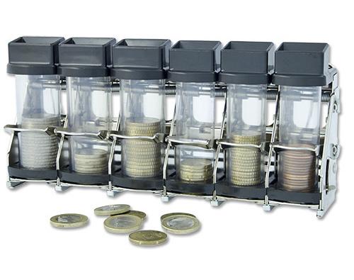 Cambist Euro coin dispenser.